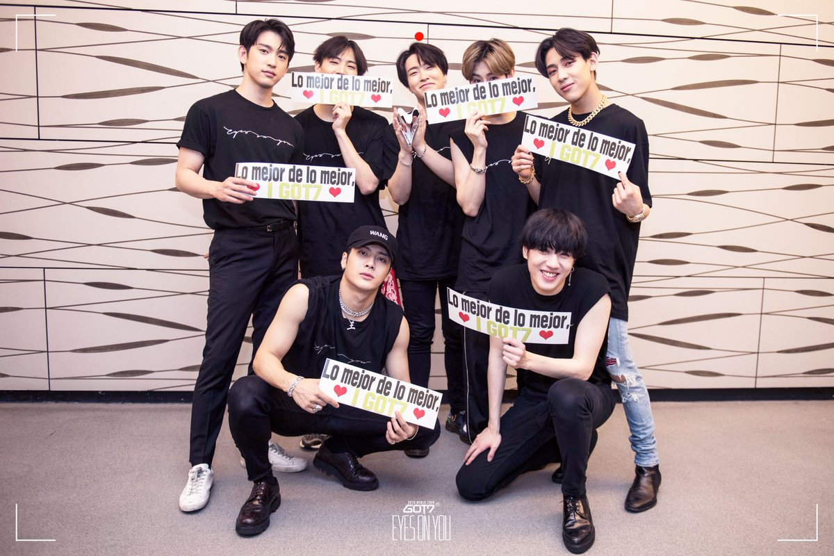 GOT7 2018 WORLD TOUR 'EYES ON YOU' IN MEXICO CITY  #GOT7 #갓세븐 #EyesOnYou #GOT7WORLDTOUR