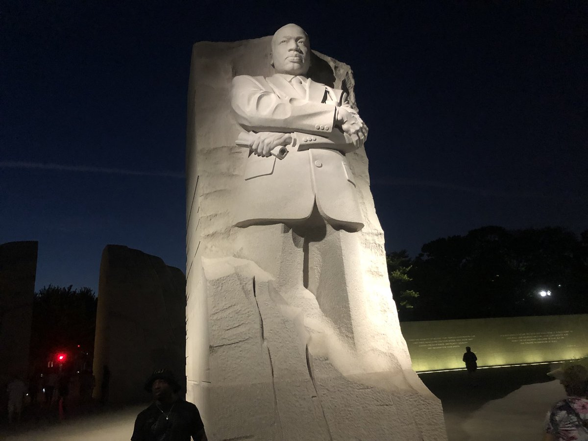 Keung Hui On Twitter Scene At Night From The Martin Luther King Jr
