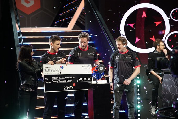 MELBOURNE ORDER ARE YOUR @GfinityAU SEASON 1 #EliteseriesAU ROCKET LEAGUE CHAMPIONS! 2 OUT OF 3 BABY! #ORDERUP🛎 Photo