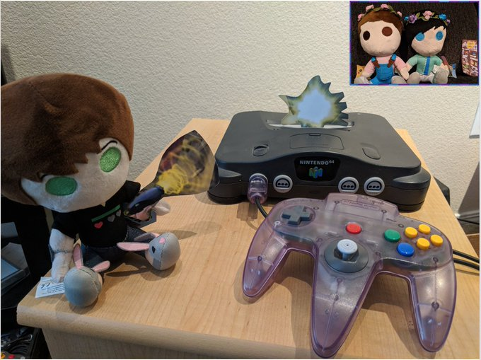 Transformation of the Day #130 Today Dil decided to bring my gaming system into the 21st century. I love the N64, but the switch will be much more portable for when I travel to Ohio and Vancouver to see @danielhowell and @AmazingPhil. What game should I play first? Photo