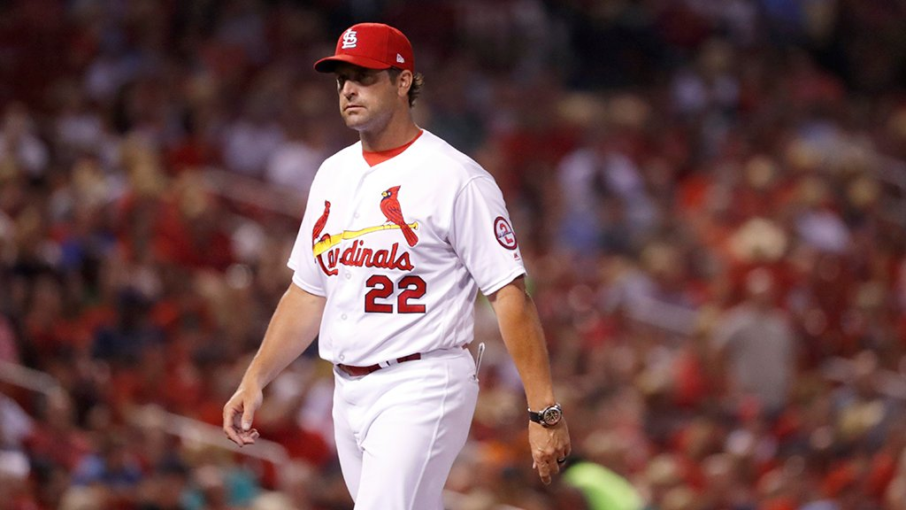 Cardinals dismiss manager Mike Matheny; name bench coach Mike Shildt as interim manager: https://t.co/7fifypdk2g https://t.co/eQJgVv4KHp