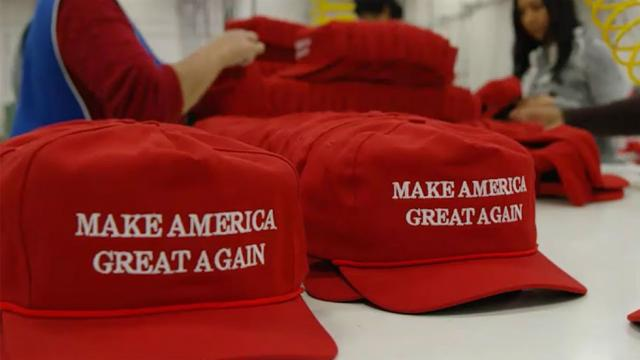 MAGA hats made in China to increase in price because of Trump tariffs https://t.co/MpNPHR2mqR https://t.co/wcIofbNmL4