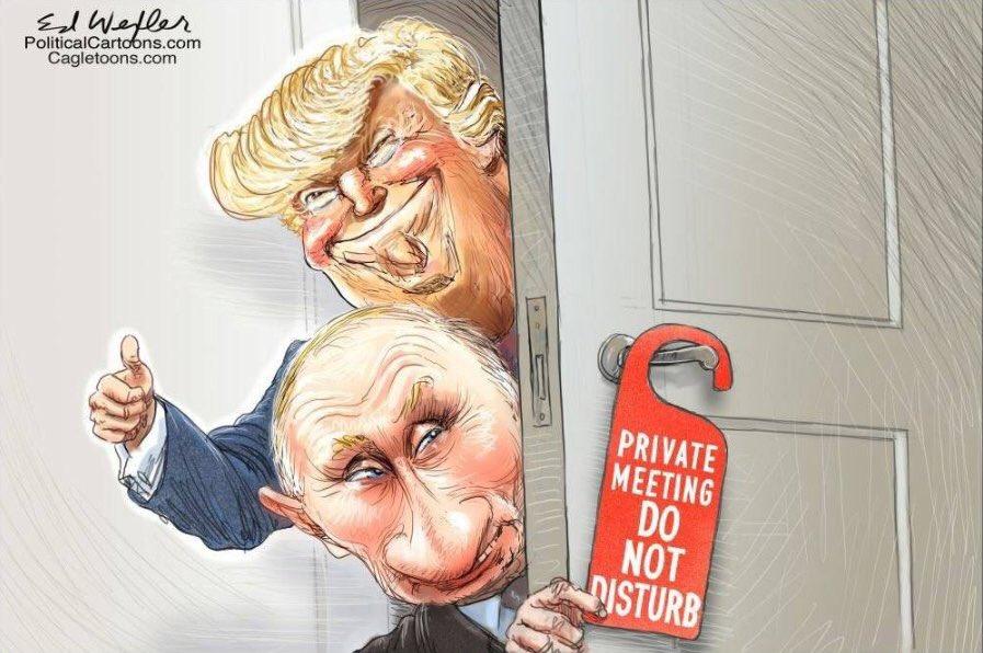 """Офис спецпрокурора Мюллера, расследующий вмешательство РФ в выборы в США отказался комментировать слова путина о """"совместном расследовании"""" - Цензор.НЕТ 4211"""