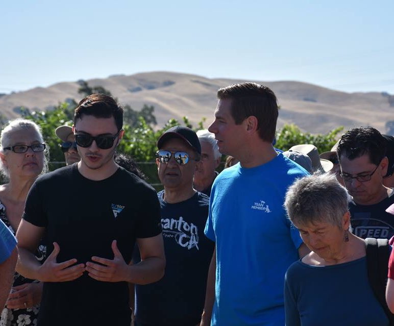 Hike with your Rep in #Livermore. Over 100 showed up at our hiking town hall to walk with me, share their concerns, and hear my vision for our community.