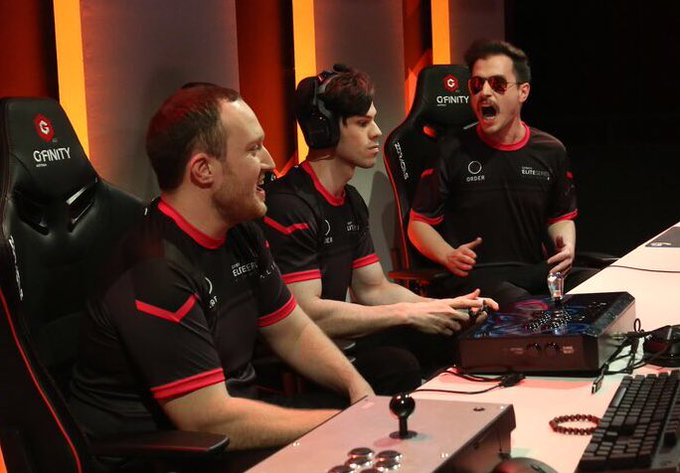 Can we make it 3/3 @GfinityAU #EliteSeriesAU titles? Street Fighter kicks off at 4PM as we look to secure the final trophy! #ORDERUP🛎 Photo
