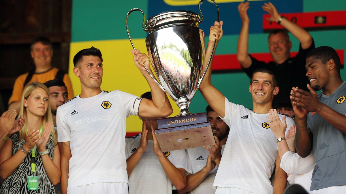 Wolves TV spoke to captain @Danny_Batth as his side claimed the @Uhrencup trophy after beating Swiss champions @BSC_YB 4-0 at Stadion Neufeld.