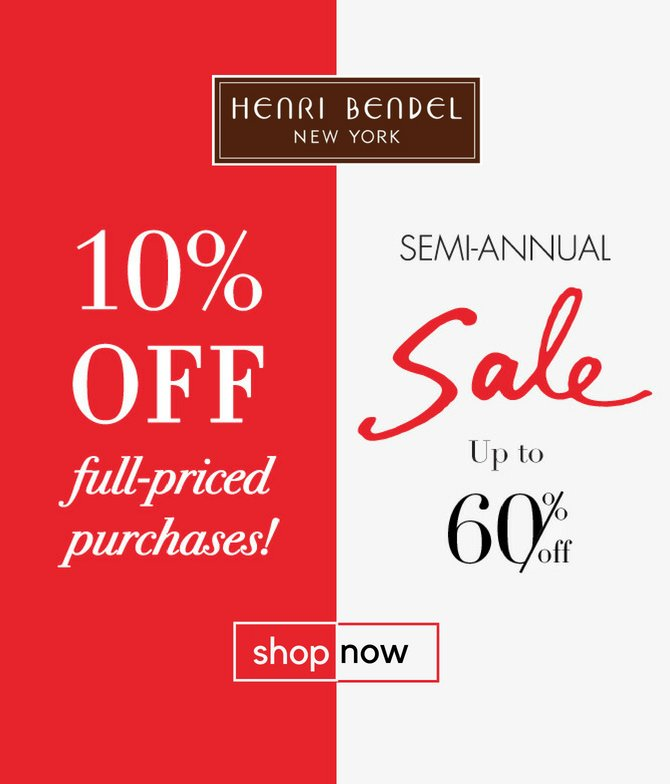 60% OFF on Henri Bendel
