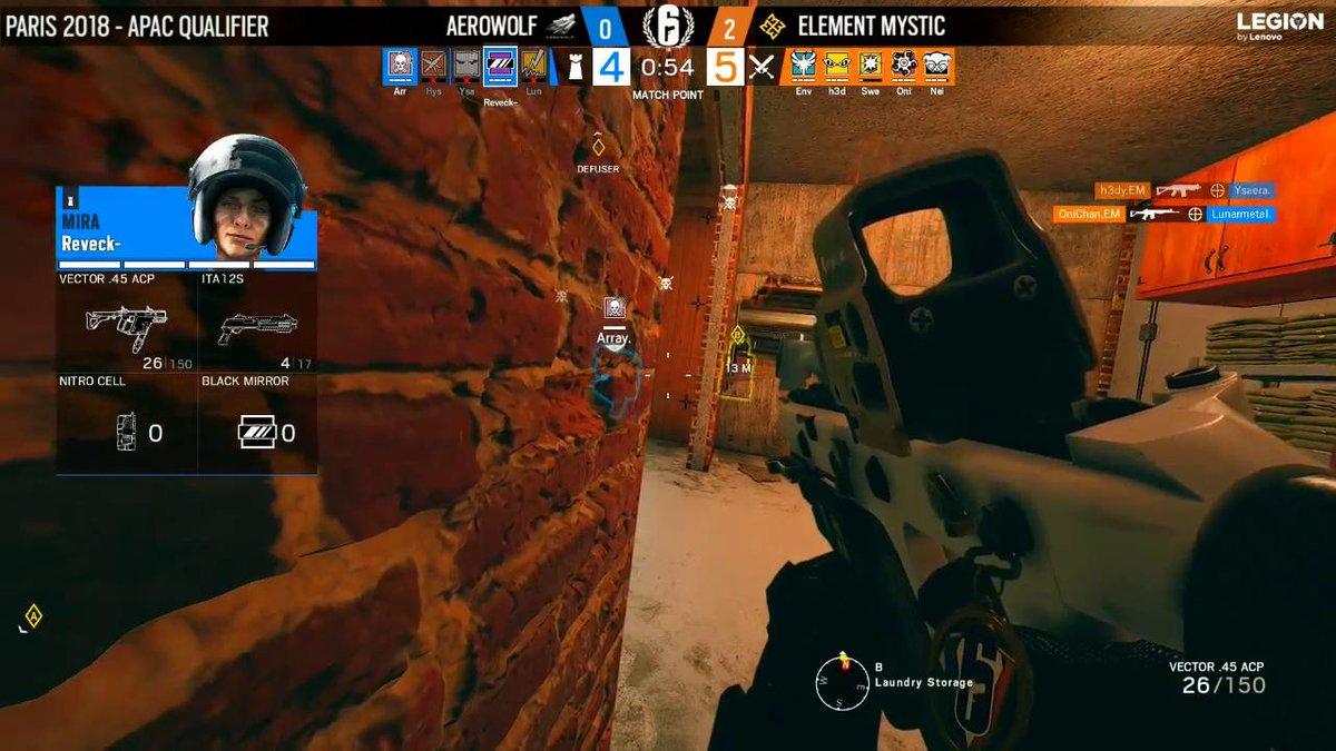 Image for the Tweet beginning: THEY HAVE DONE IT!  @ElementMysticR6 have