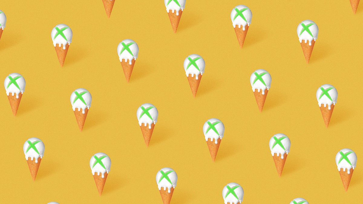 10 best ice cream flavors ranked:  10. You 9. can't 8. really 7. call 6. one 5. flavor 4. better 3. than the 2. rest 1. mint chocolate chip.  #Xbox #NationalIceCreamDay