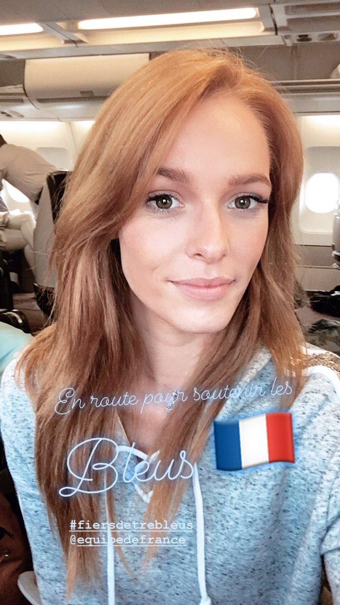 Après l'incroyable voyage de Miss France à Saint Martin - Saint Barth' direction....la Russie pour encourager les bleus et vivre un moment historique 🇫🇷🇫🇷🇫🇷🇫🇷 @equipedefrance
