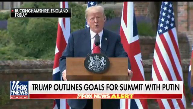 HIGH STAKES IN HELSINKI: President Trump lays out goals for summit with Russian President Vladimir Putin https://t.co/AEl73Mzrqb
