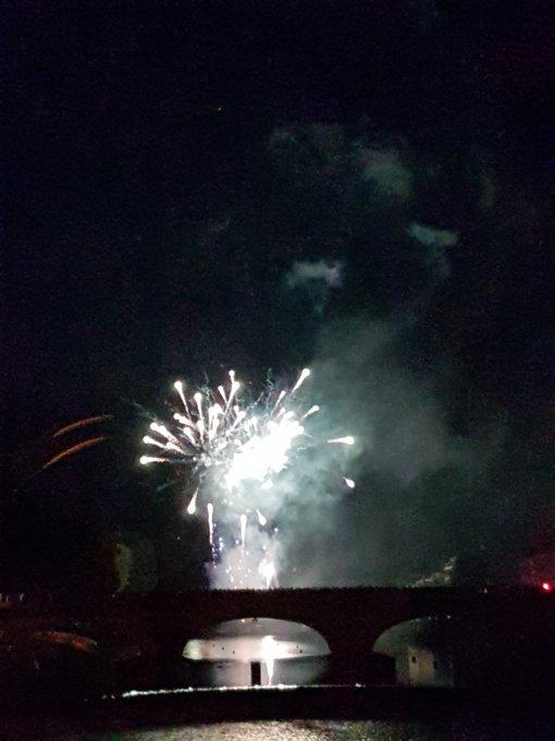 La redfox était a Laval pour le feu d artifice #Laval #14Juillet Photo