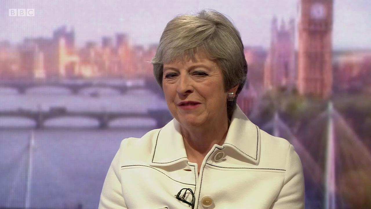 Donald Trump's #Brexit advice to Theresa May?  'He told me I should sue the EU'  https://t.co/3MlDYAB8yA #Marr https://t.co/s4yn6zJ6tE