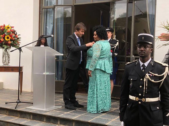 ANC congratulates Cde Dr Edna Molewa for being awarded the French Legion of Honour in her capacity as Minister of Environmental Affairs. The French Legion of Honour celebrates the accomplishments of distinguished individuals, irrespective of sex, social background or nationality. Photo