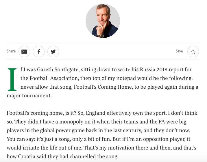 Graeme Souness on #itscominghome 🤦♂️🤦♂️🤦♂️ (via @ST_Sport)