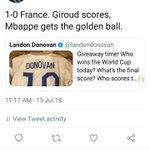 Giroud Twitter Photo
