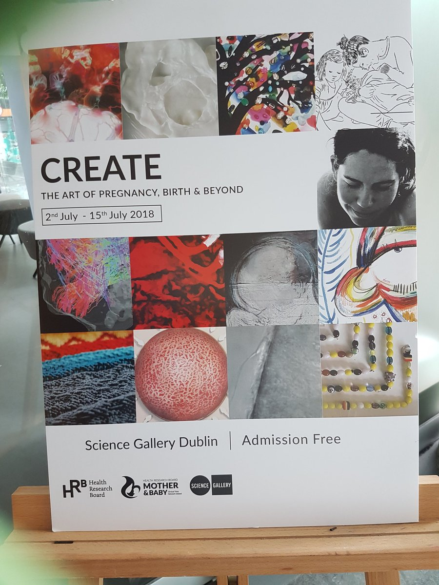 So glad to finally get to the science gallery for this wonderful exhibition @RotundaHospital @HRBMumAndBaby<br>http://pic.twitter.com/wQMTn42nTU