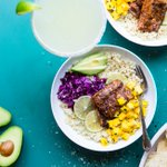 Image for the Tweet beginning: New!>> #Lowcarb Fish Taco Bowls!