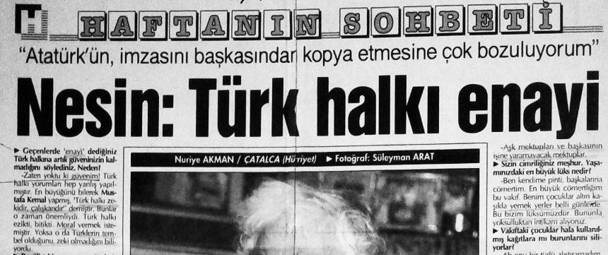 Cengiz özakıncı On Twitter 7 Nesinin Atatürke 2791992 Günlü