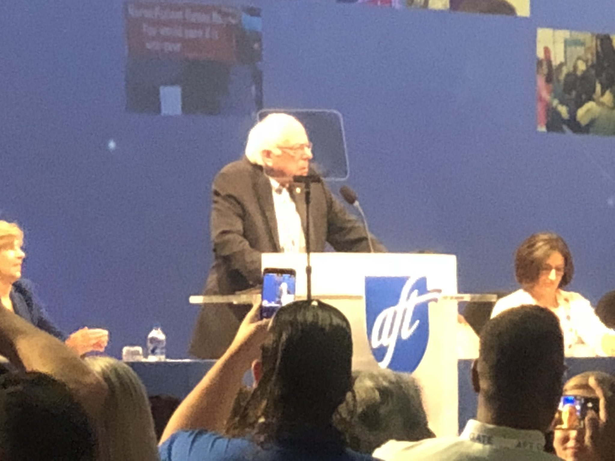 @SenSanders Thanking public school teachers for the work we have done. #IamAFT the Bern is real. https://t.co/H1zS50kZMf