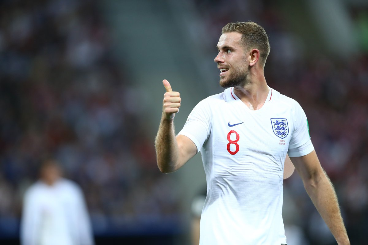 England played 690 minutes at the #WorldCup. Jordan Henderson played for 482 these and England were never trailing with he was on the pitch. They played 208 minutes without Henderson, and were losing for 136 minutes them.