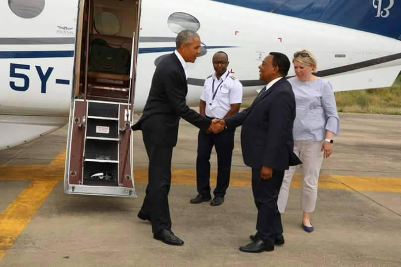 Barack Obama aja kimya kimya Tanzania na kuacha ujumbe mzito serikalini (+video)