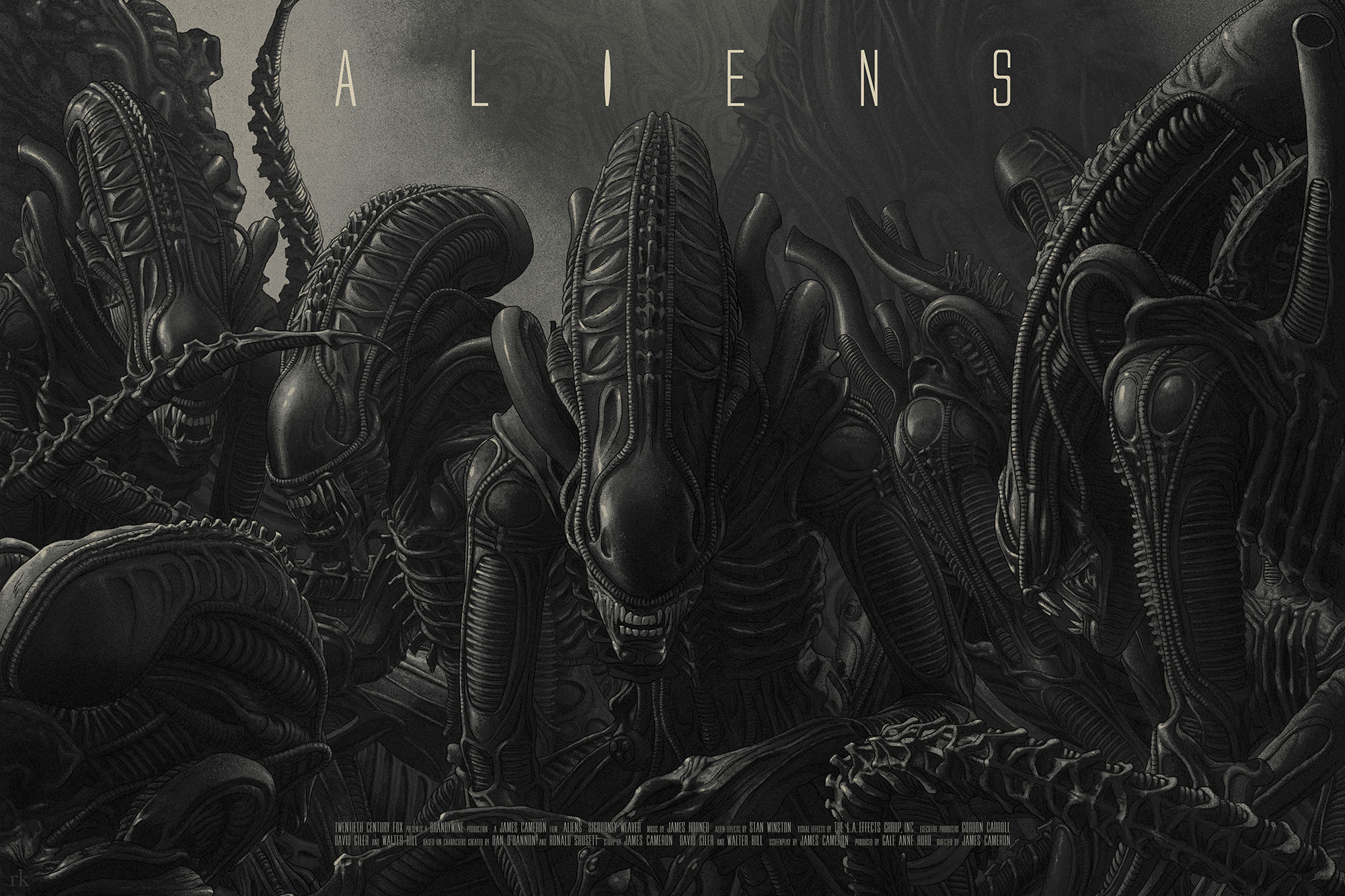 We are in love with these gorgeous Aliens posters https://t.co/EfH4Vg7mn6 https://t.co/EYMM3EPlMK