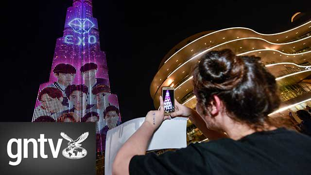 #Video: #EXO and their fans take over the #BurjKhalifa: https://t.co/jmGlCYXSIU @gulf_news