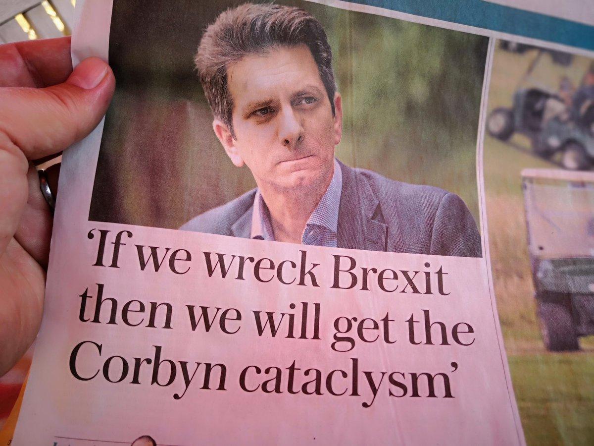 Highly likely 2019 @Telegraph heading towards inevitable #BrexitShambles