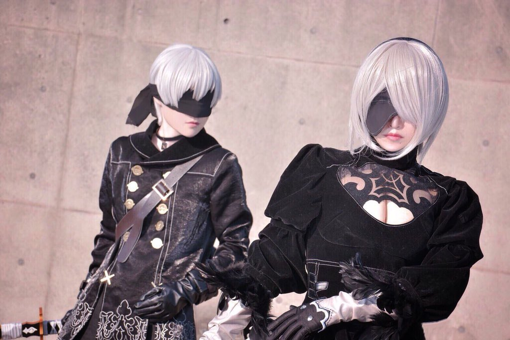 Character Cosplayer Nier Family Sinners 1