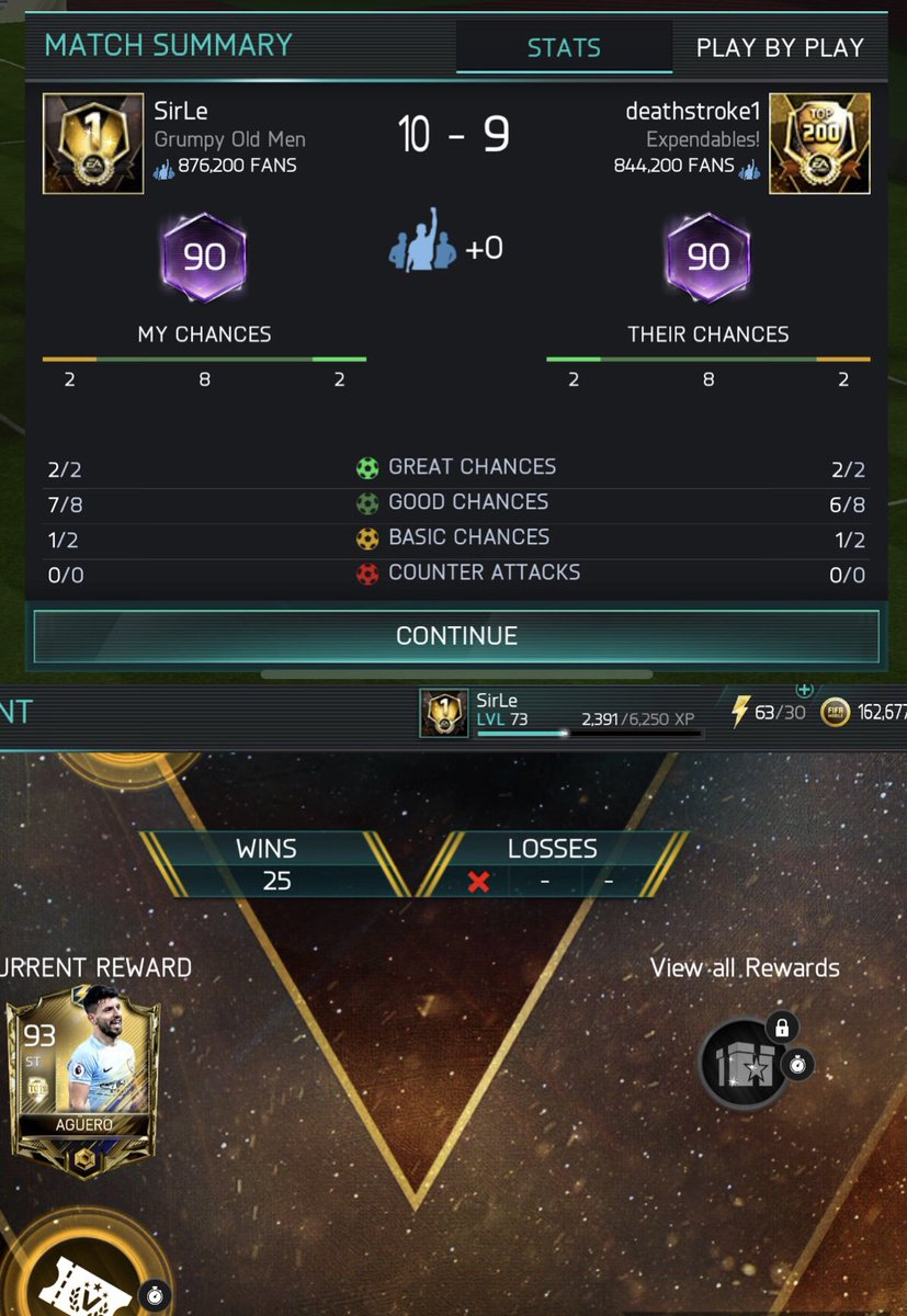 What a match! 💥 @EAFIFAMOBILE