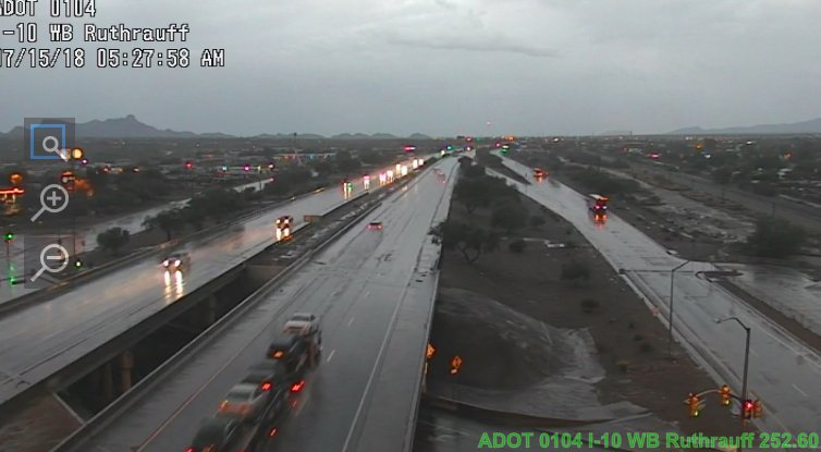 Roads are wet and slick in Tucson: Slow down. #Tucson