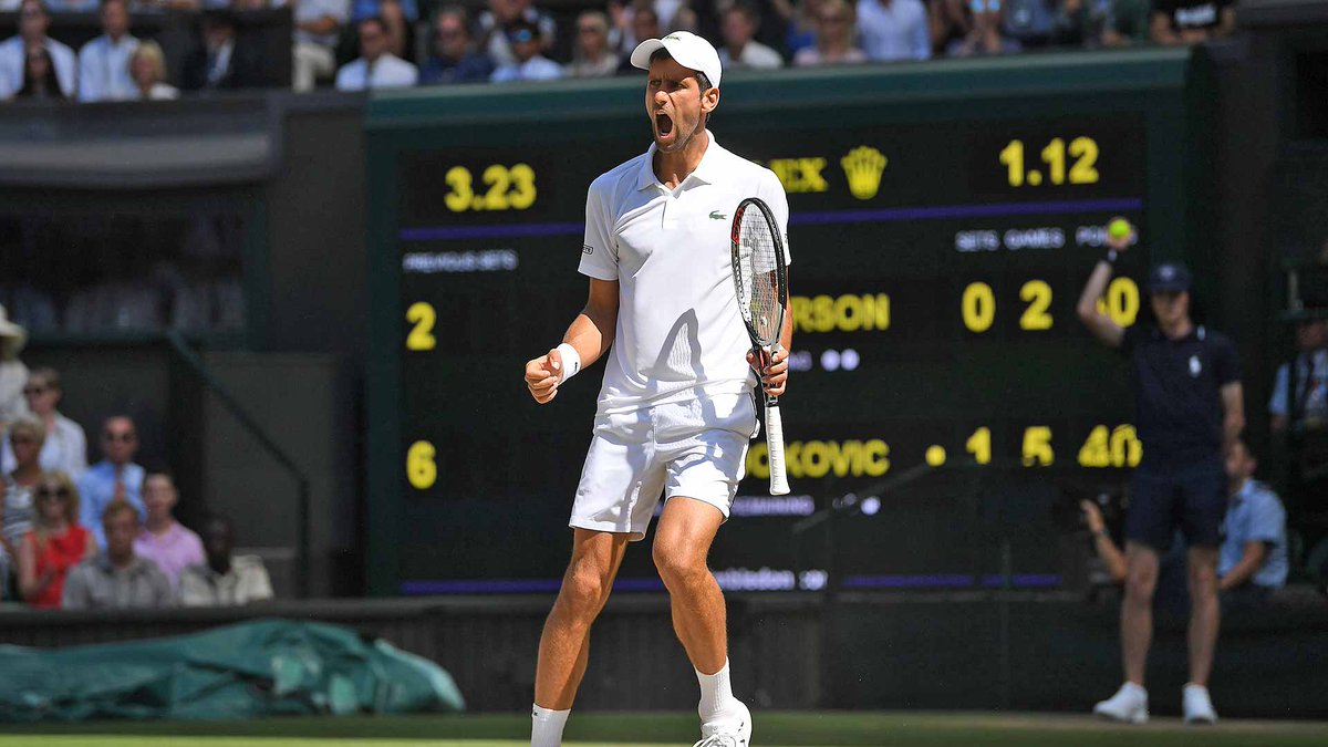ATP World Tour's photo on Kevin Anderson