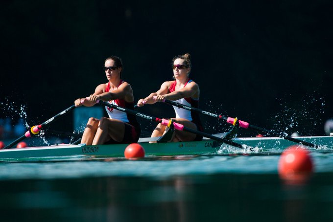 SILVER 🥈for W2x✌️🔥 Andrea Proske and Gabrielle Smith 6 Well done 🇨🇦!!! #WRCLucerne #truenorthstrong Results: Photo