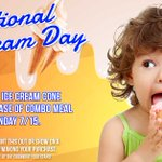 Image for the Tweet beginning: It's #NationalIceCreamDay, and to celebrate,