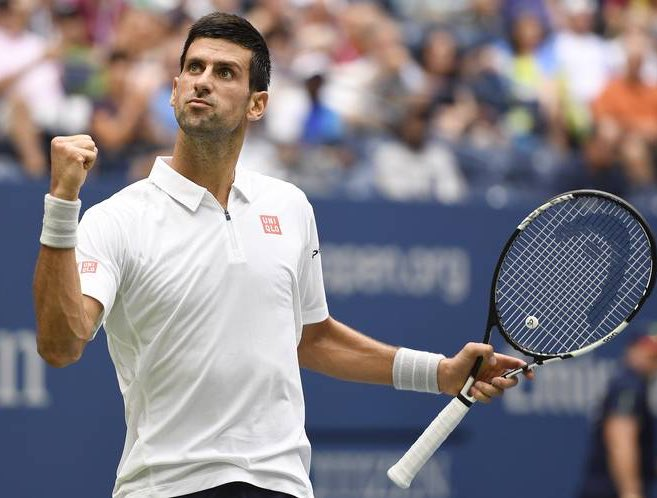 It's Novak Djokovic 🆚 Kevin Anderson in the #Wimbledon final!  Here we go...  📸: #USOpen
