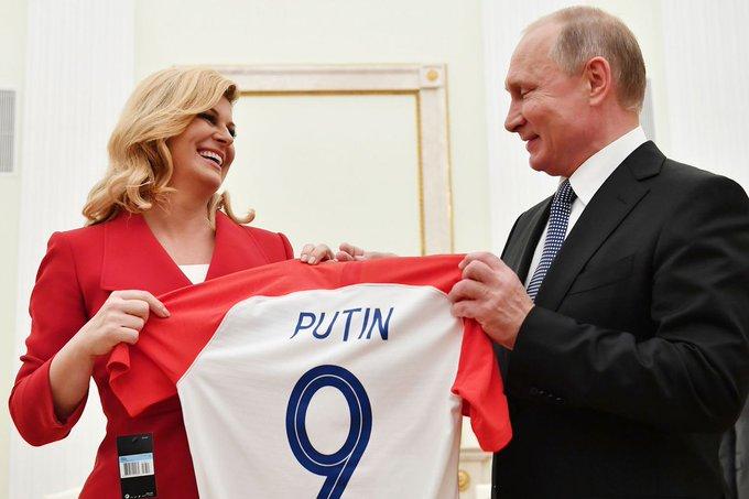 The Latest: World Cup Trophy Arrives At Luzhniki Stadium Photo