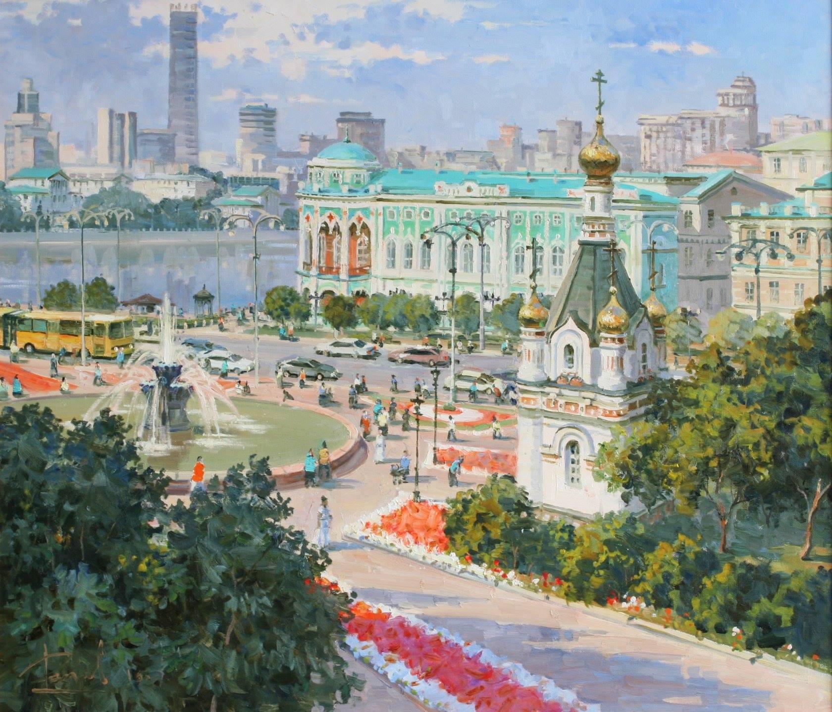 Открытки с видами екатеринбурга и краткая история создания города