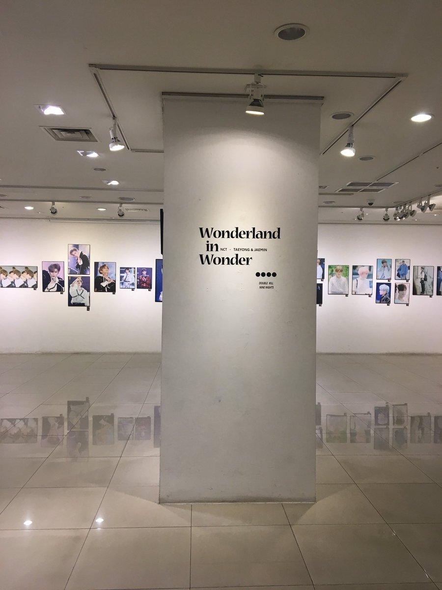 exhibition for taeyong &amp; jaemin!!  #WonderlandInWonderland   @doublekill_ty @NineNights0813<br>http://pic.twitter.com/CnOqfooA69
