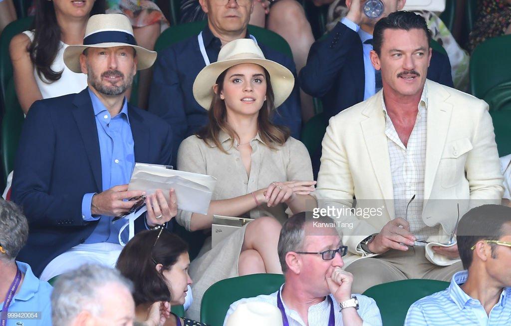 Emma Watson Updates On Twitter Emma Watson At Wimbledon Again