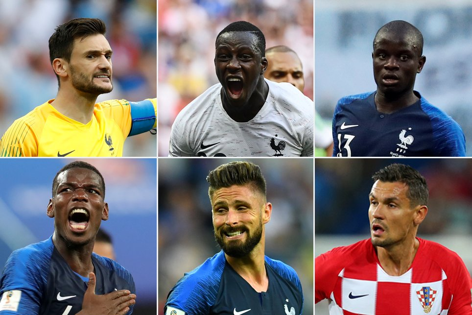 Six Premier League stars eye #WorldCupFinal glory   ➡️ https://t.co/29L11HVDu6