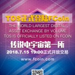 Image for the Tweet beginning: TOS is officially listed on
