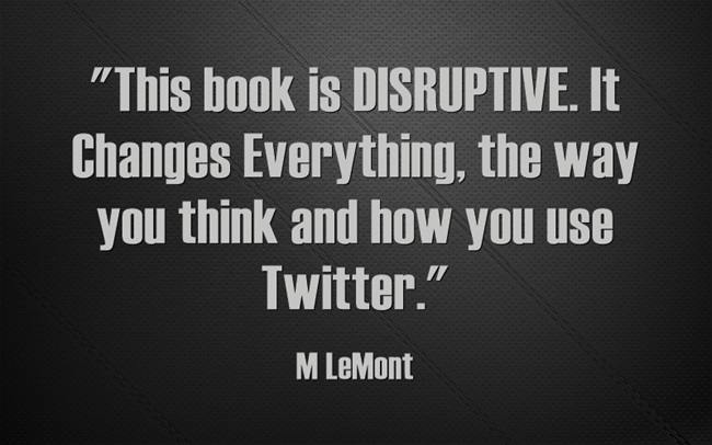Disruptive. Changes Everything! https://t.co/hzpxEkbK6I #Twitter #Followers #Authors #Sales #SMM #Smallbiz #SEO