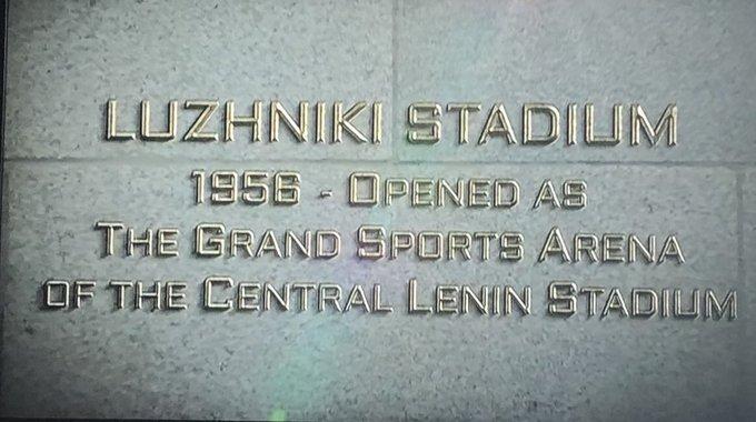 Bring on the Luzhniki 🇫🇷 🇭🇷 Follow, follow, follow, cos United are off to Photo