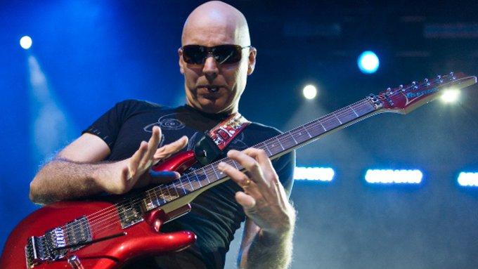 Happy birthday to Joe Satriani.