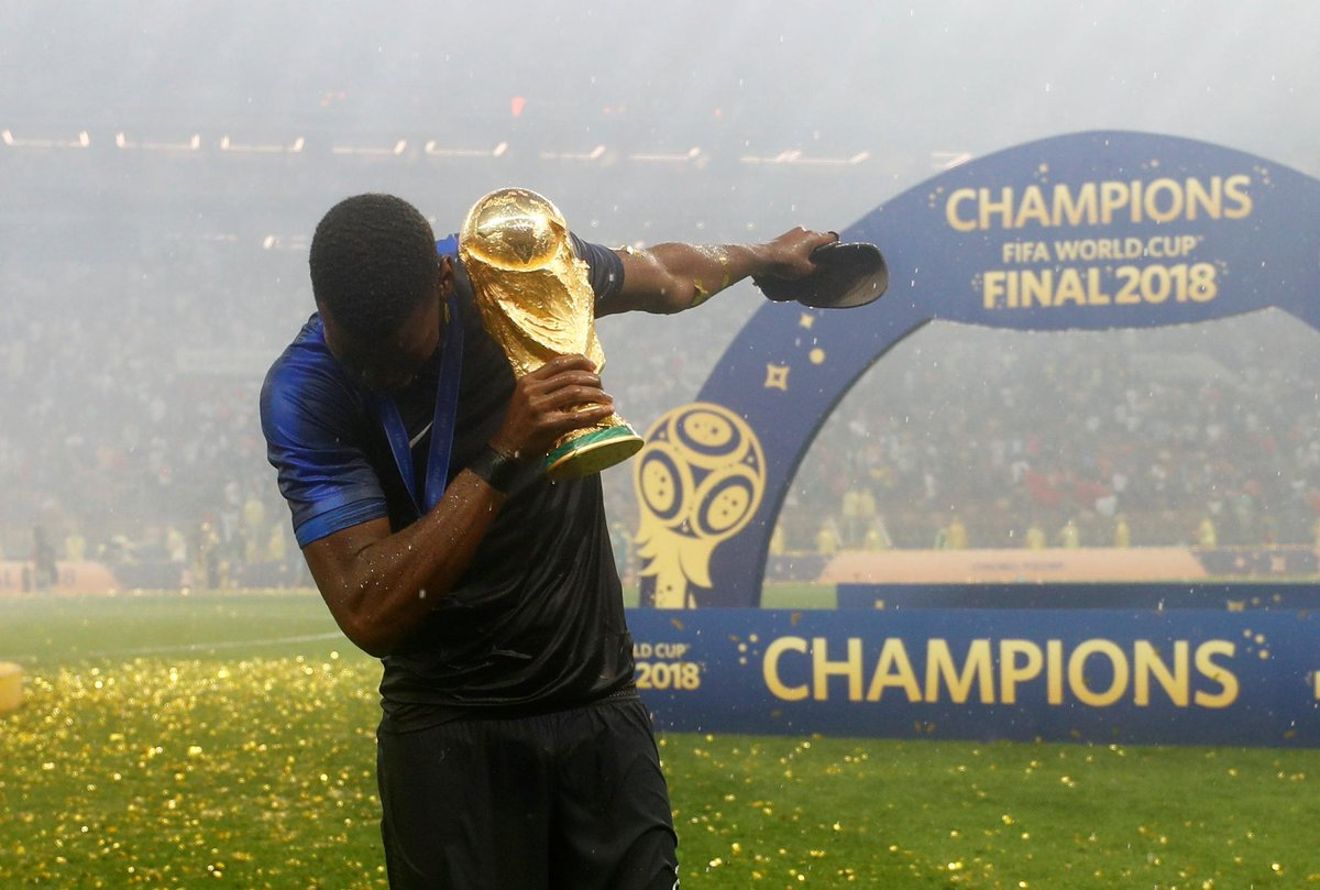 Pogba scores as France are crowned 2018 #WorldCup Champions 🏆🇫🇷  ➡️https://t.co/NQKQOTNUUz