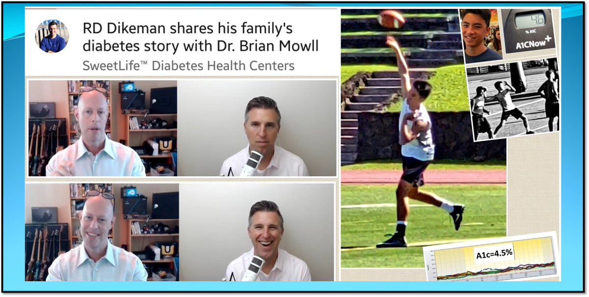 I discuss t1d with Dr. Mowll (Link:  https:// youtu.be/-4j3wqm02D8  &nbsp;   ). Topics: my son&#39;s diagnosis, how Dave normalized his BGL, proper low carb/protein nutrition, the physics of insulin dosing, and the absolute disaster of standard HC protocols. <br>http://pic.twitter.com/ZEMsAGeeHQ