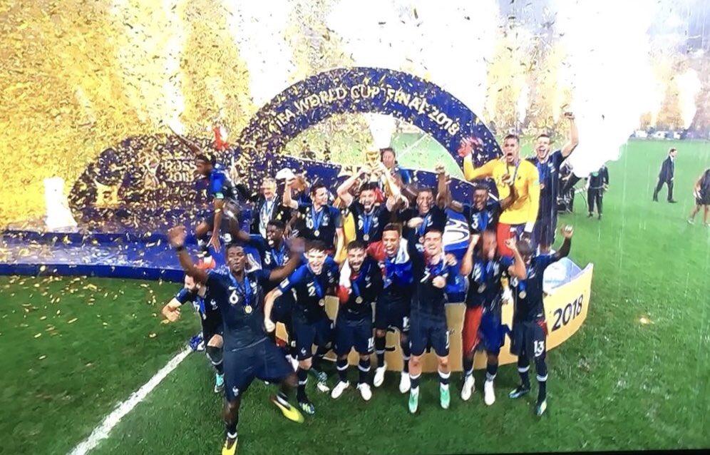 Bravo les gars 💪 #championsdumonde 👏