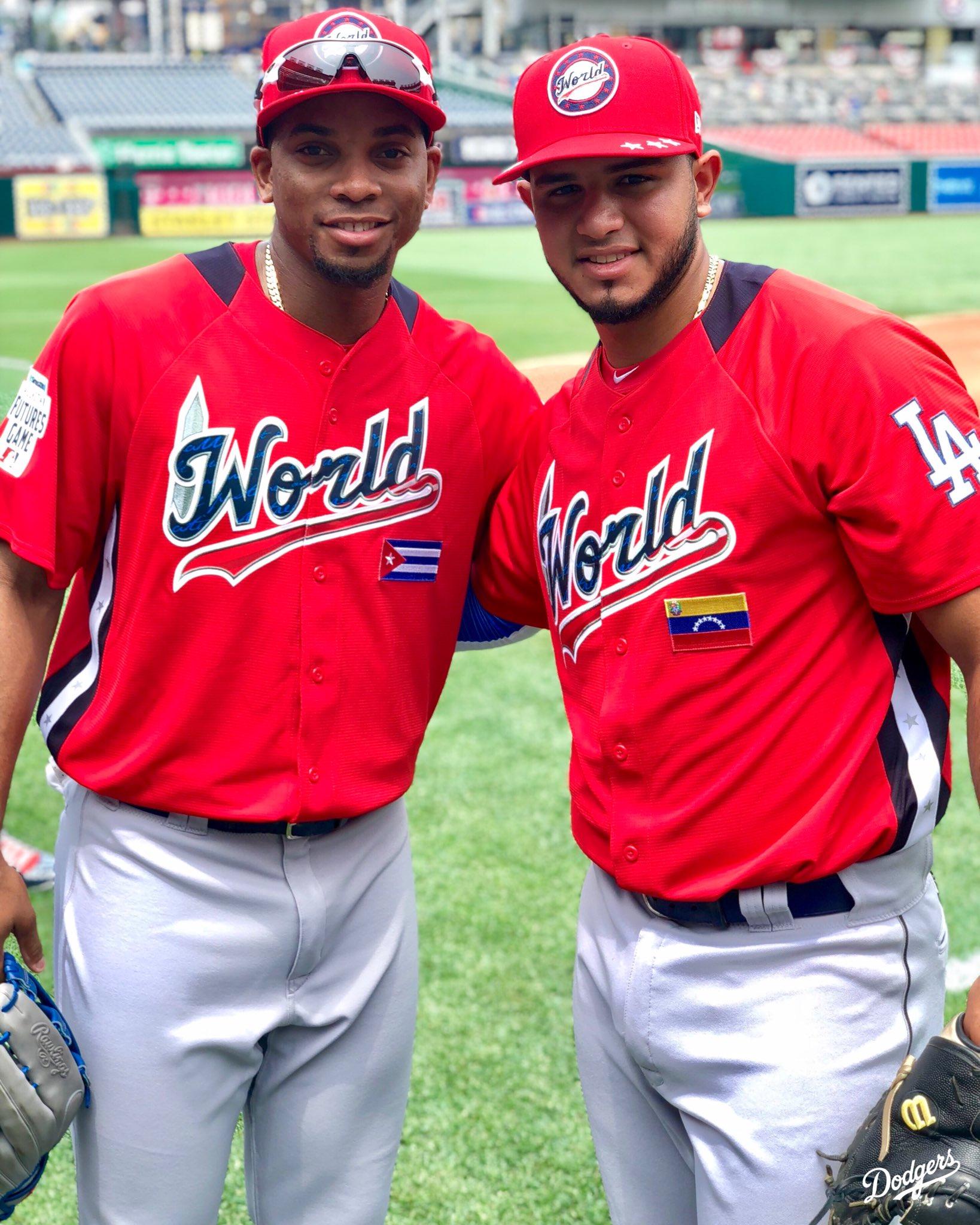 Future's bright! Yusniel Diaz and Keibert Ruiz are ready for the #FuturesGame. https://t.co/0zwhcv6owT