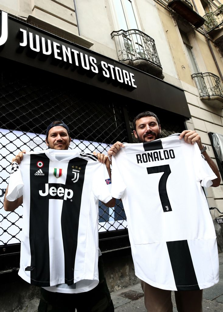 outlet store c5d56 f3a3b Cristiano Ronaldo's move to Italy is a big score for Jeep